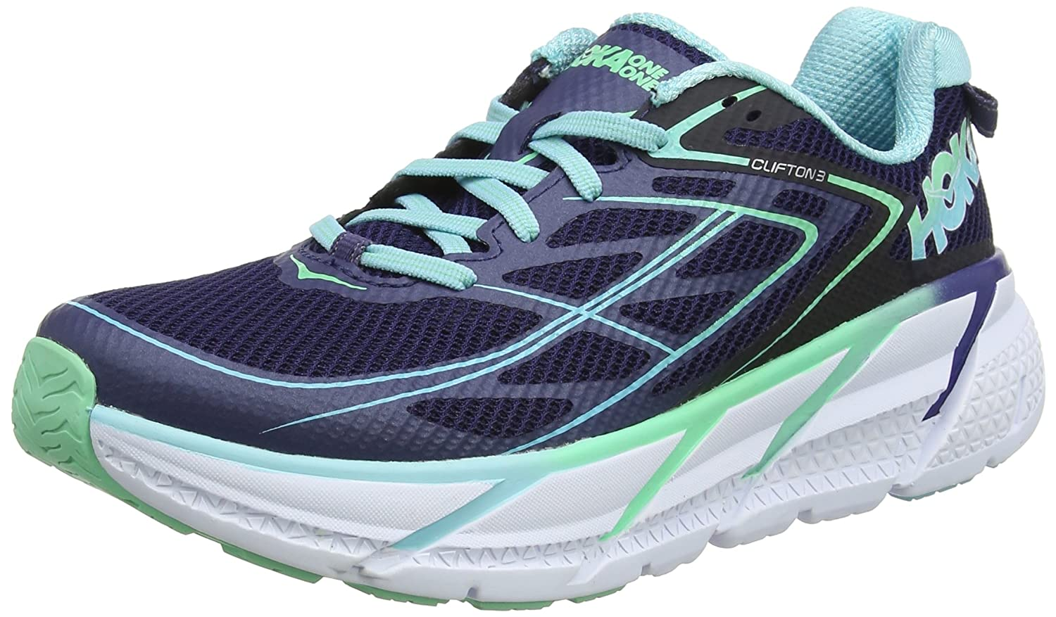 Hoka Clifton One Damen Clifton Hoka 3 Laufschuhe 414706