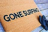 Gone Surfing Coir Doormat 18 x 30 Inch