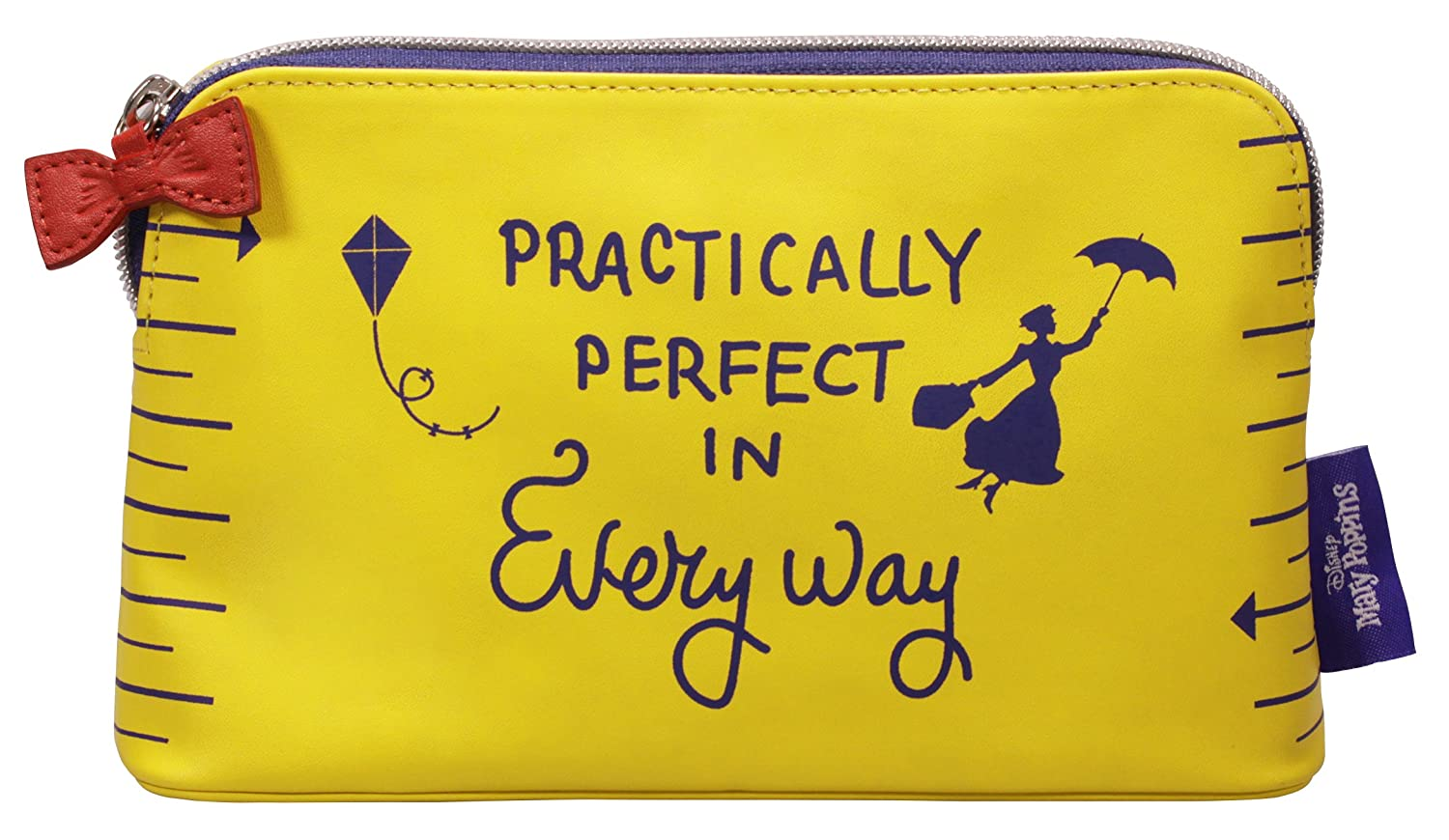 Mary Poppins Cosmetic Bag - Practically Perfect Half Moon Bay
