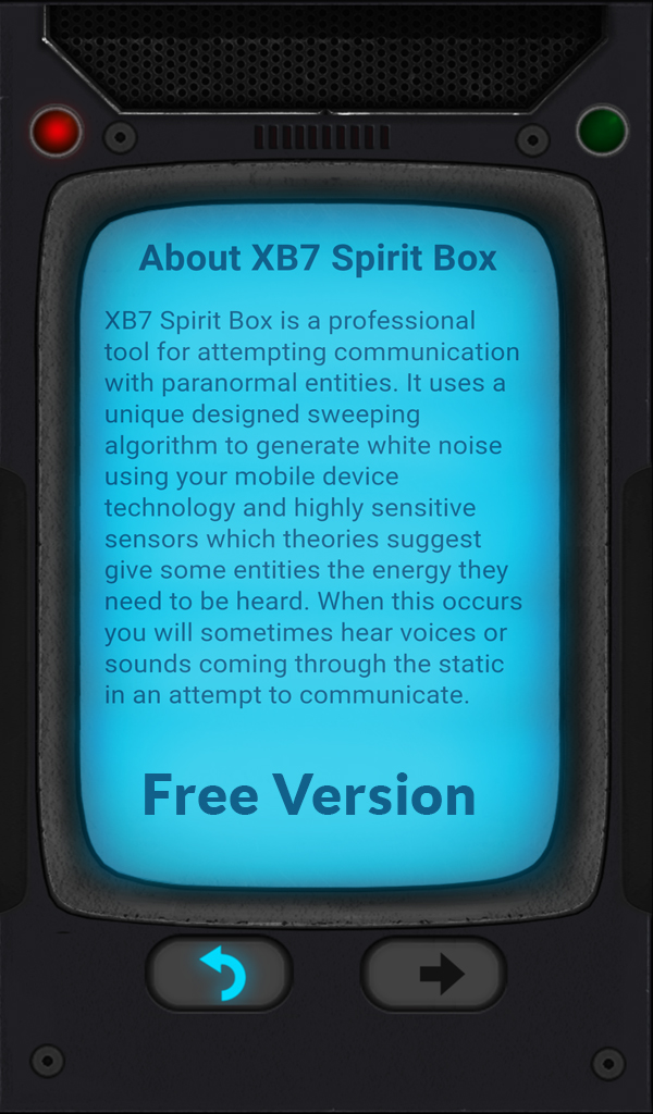 XB7 Free Spirit Box