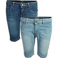 Real Love Girl's Bermuda Denim Shorts (2 Pack)