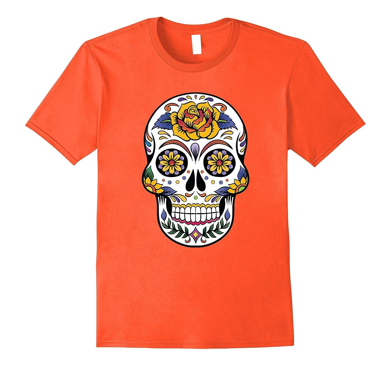 77478769871 Flower Sugar Skull Costume Tee Sugar Skull Costume Plus Size-FL ...
