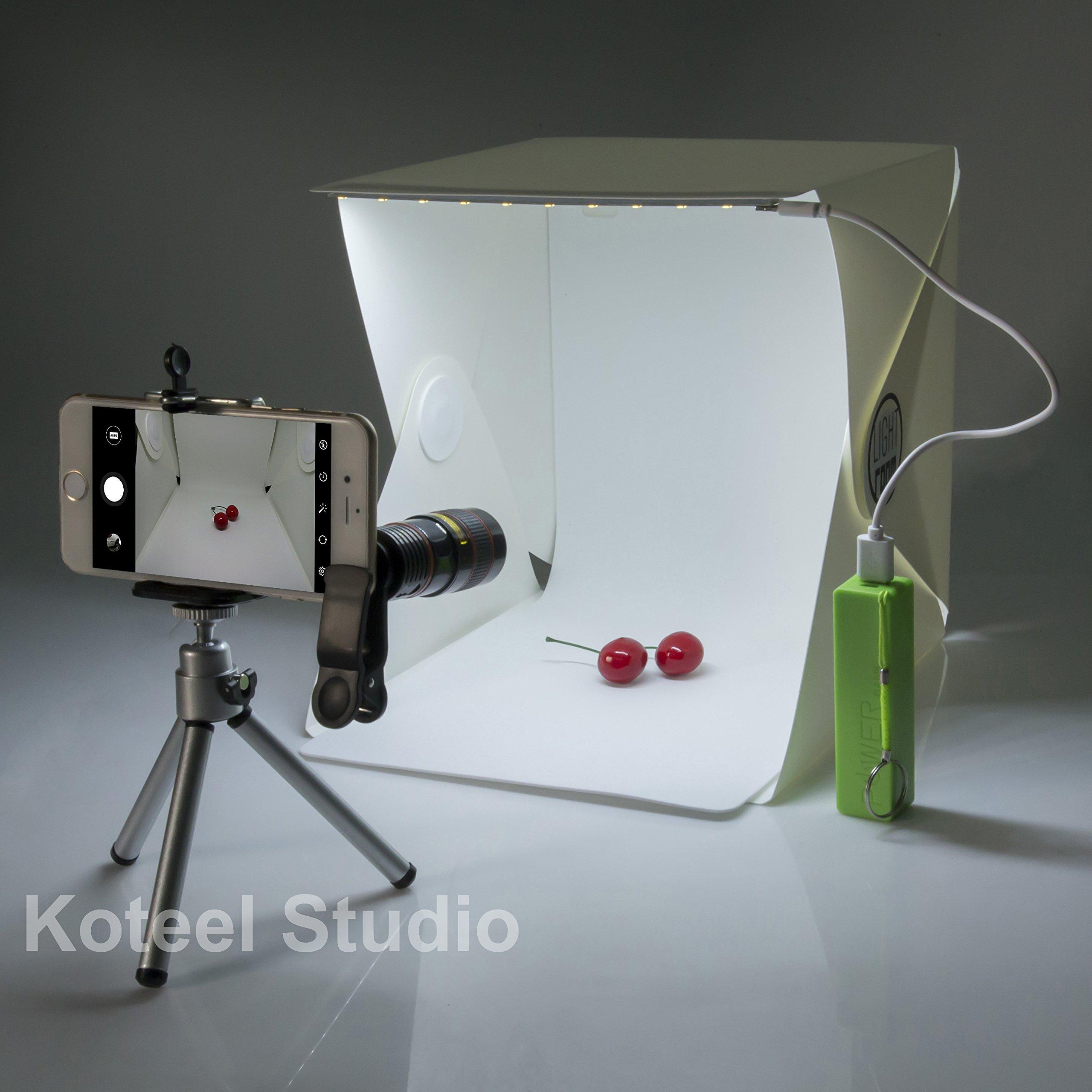 Other lighting studio koteel mini photography studio - Lightbox amazon ...