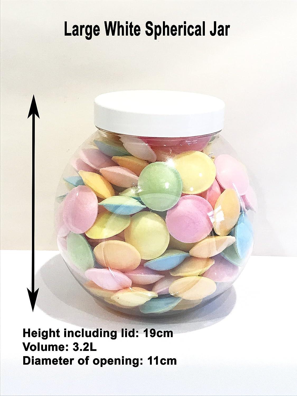 Large 3200ml Retro Plastic Sweet Jars Wedding Party Sweet Candy Buffet Christmas