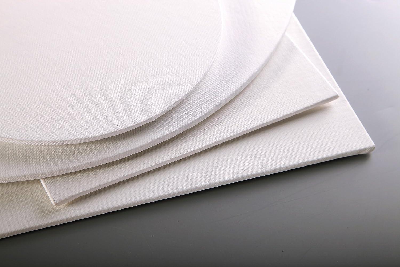 Clairefontaine 34051C Cartone Telato da Dipingere 41 x 27 cm Bianco 6 Fogli