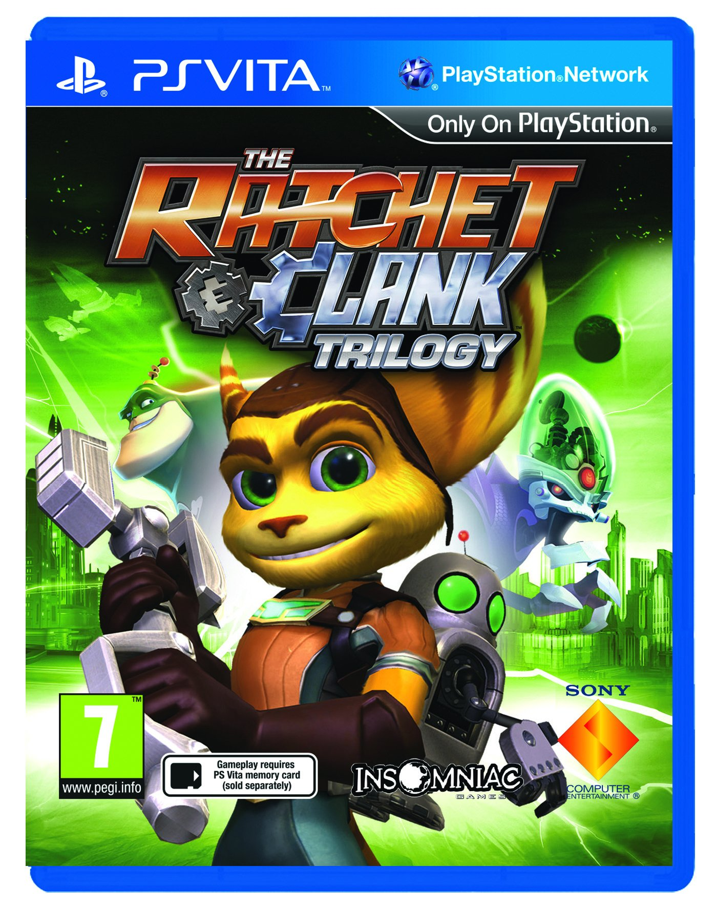 The Ratchet & Clank Trilogy (UK)