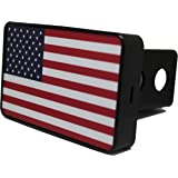 Bright Hitch - American Flag Hitch Cover