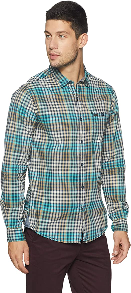 People Men's Casual Shirt Men's Casual Shirts at amazon