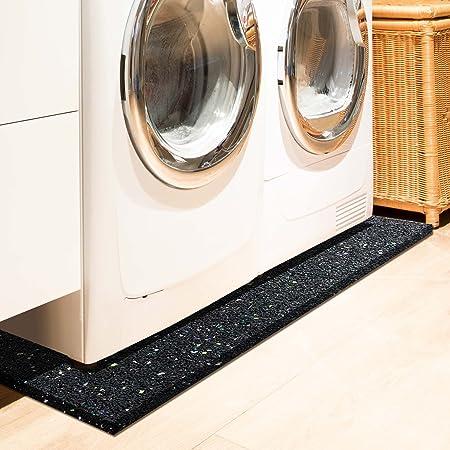 etm Losa antivibración para lavadora, secadora, 1 cm de grosor ...