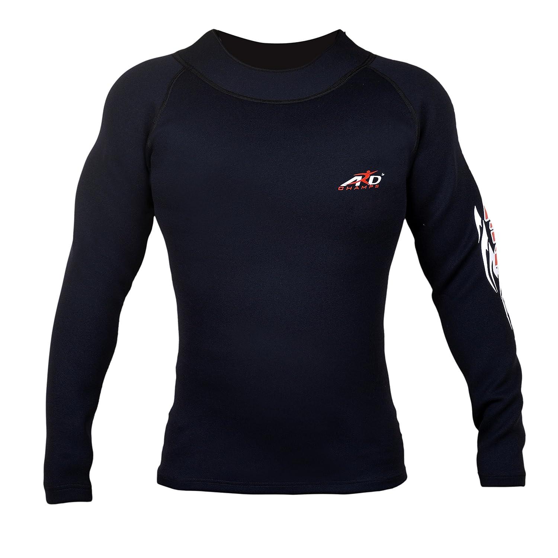 4fit Men s Neoprene Weight Loss Sauna Sweat Shirt Long Sleeve