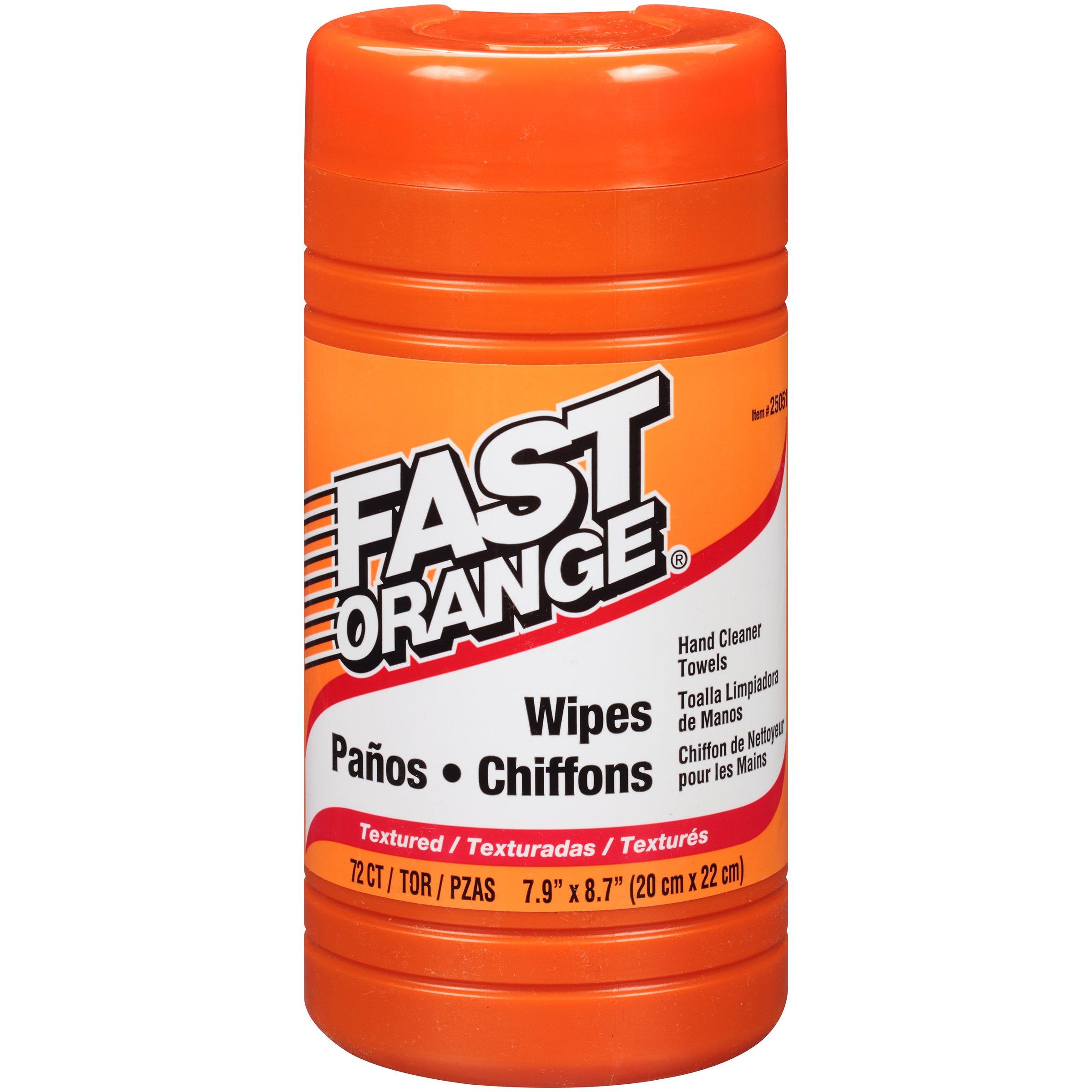 Permatex 25051-6PK Fast Orange Wipe - 72 Count, (Pack of 6) by Permatex (Image #1)