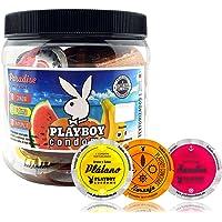 Playboy Condoms Vitrolero con 30 Condones Paradise