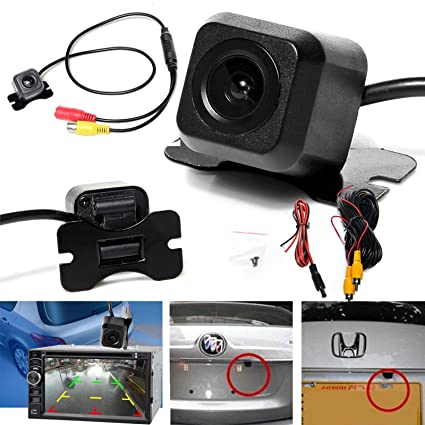 Waterproof Car Rear View Reverse Backup Parking Camera Night Vision 170° Cmos Car & Truck Parts
