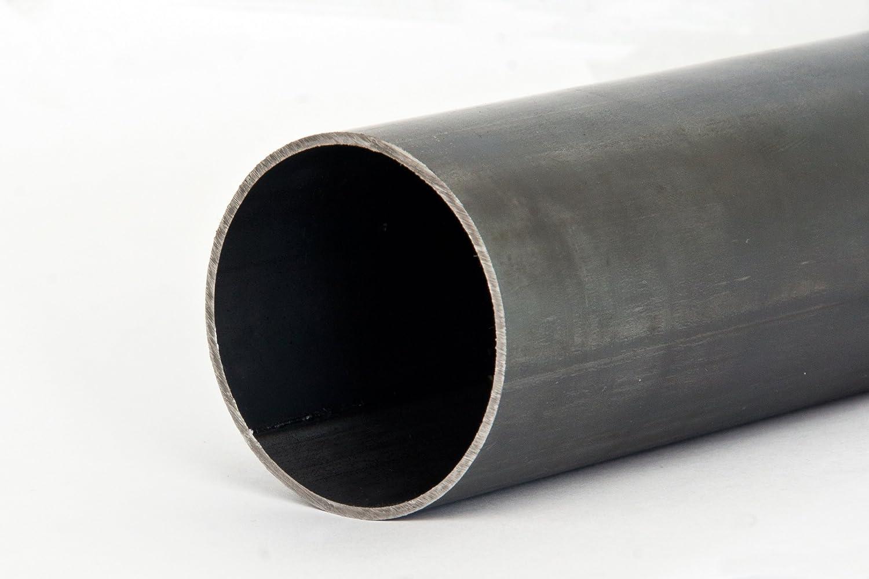 Stahlrohr Rundrohr Schwarz Geschwei/ßt L/änge 500mm 63,5x2,9mm