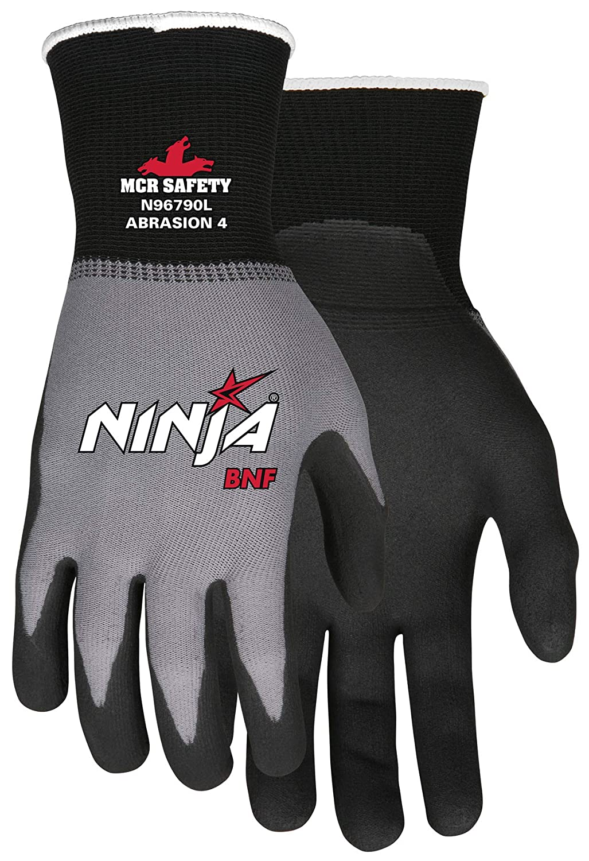 MCR Safety N96790L Ninja BNF Gloves (1 Dozen), Large