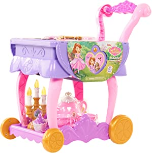 Sofia the First Delightful Dining Cart- Brown Mailer