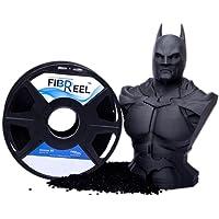Fibreel 1.75mm 1Kg[1.3Kg] ABS 3D Printing Filament Spool (Black)