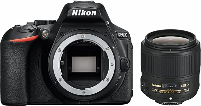 Nikon D5600 + AF-S DX 35 mm 1:1,8 Juego de cámara SLR 24,2 MP CMOS ...