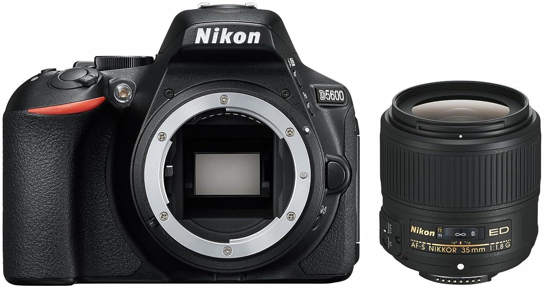 Nikon d5600 + AF de p DX 35 mm 1: 1,8g Nikon d5600 Kit Incluye AF-S DX Nikkor 35 mm 1: 1.8G Negro