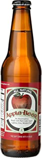 """product image for APPLE BEER FROM UTAH """"The Original"""", 12-Ounce Glass Bottle (Pack of 12)"""