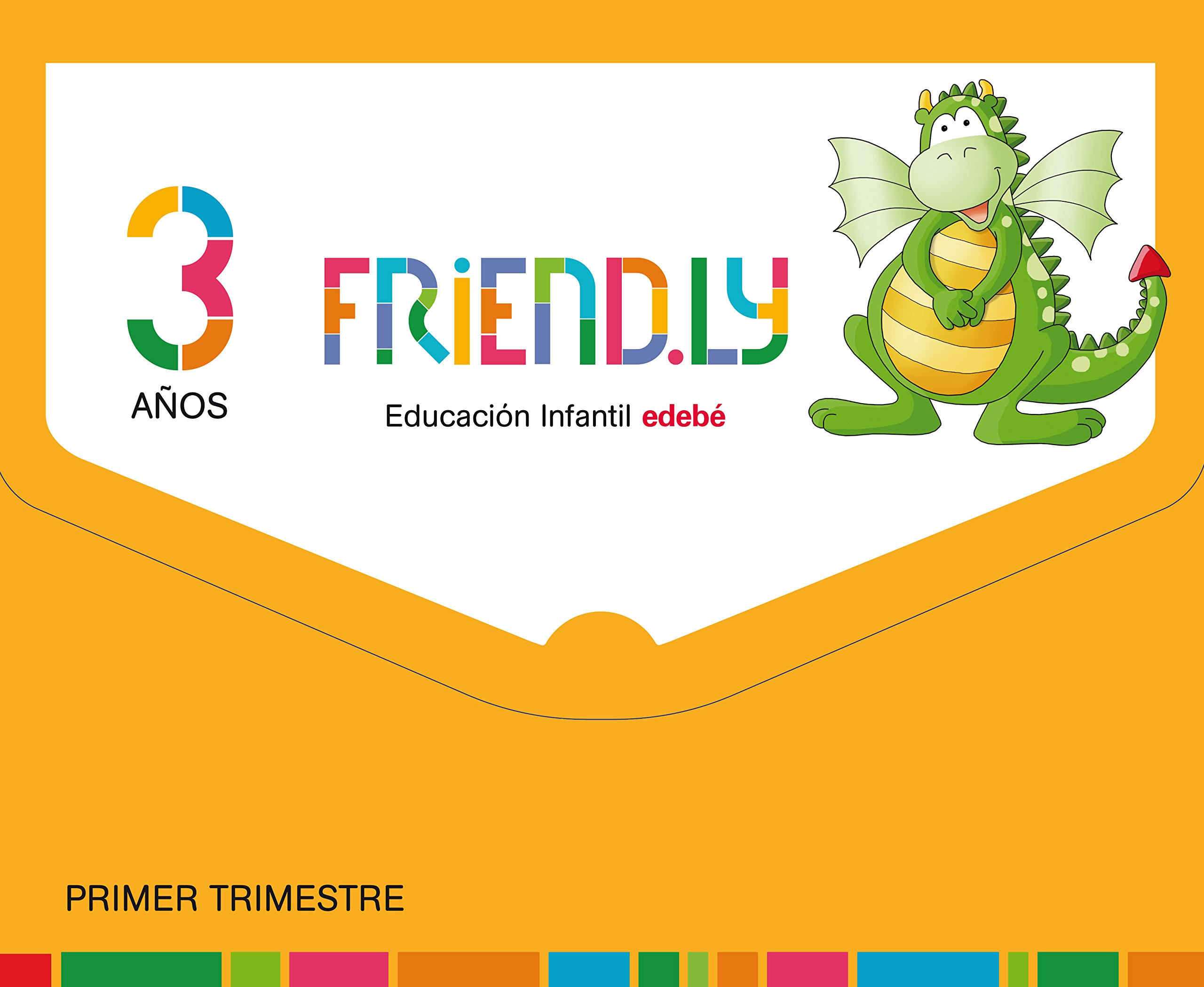 FRIENDLY 3A 1TR: Obra Colectiva Edebé: 9788468332161: Amazon ...