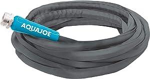 Aqua Joe AJFJH50-58-PRO FiberJacket Non-Expanding Kink-Free Garden, RV and Camper Hose, 50-Feet x 5/8-Inch