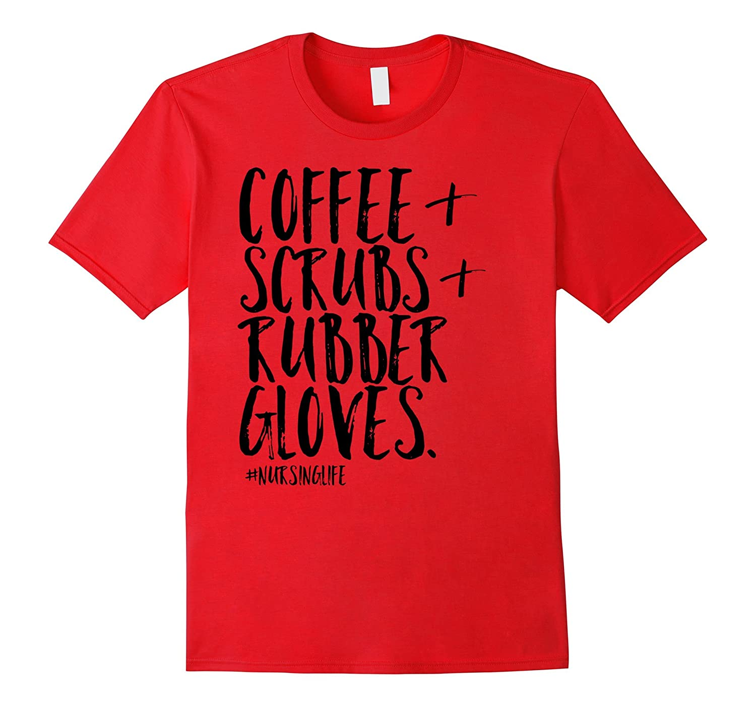 Coffee Scrubs Rubber Gloves Funny-Teechatpro