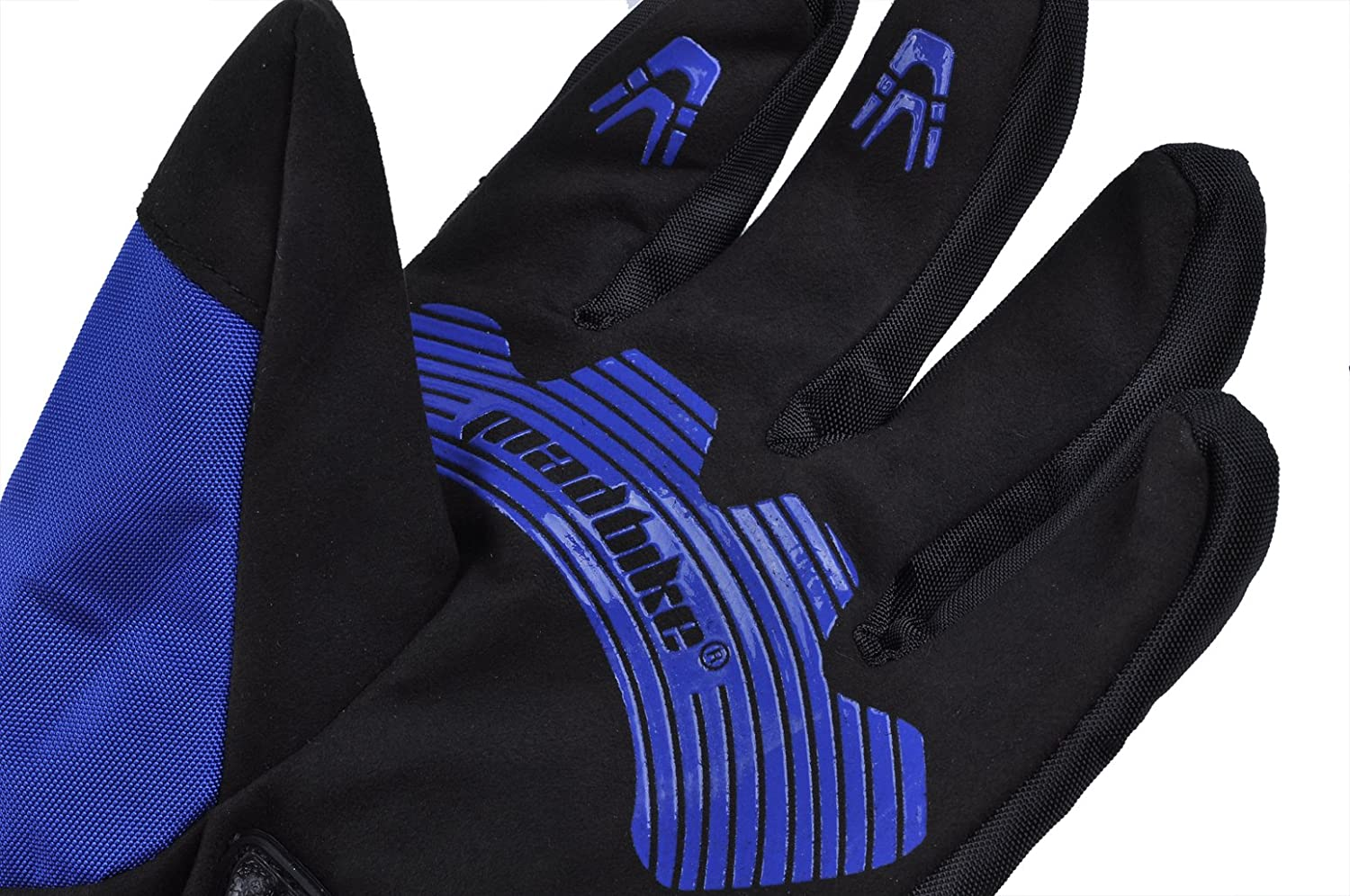 madbike motorcycle gloves waterproof with carbon protection black L