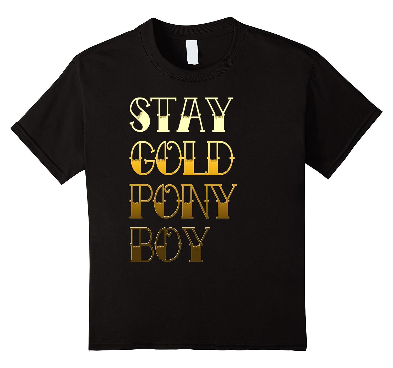 Womens Stay Gold Ponyboy Outsider-Awarplus