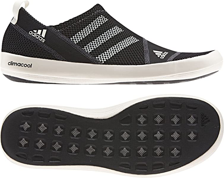separation shoes cfd1f ec88a adidas Men s Climacool Boat Sl Water Shoes - Black Chalk  Dark Shale 8.5,  Uk Size -7.5  Amazon.co.uk  Shoes   Bags