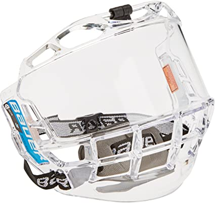 Amazon Com Bauer Concept Iii Full Face Shield Junior Hockey Masks And Shields Sports Outdoors