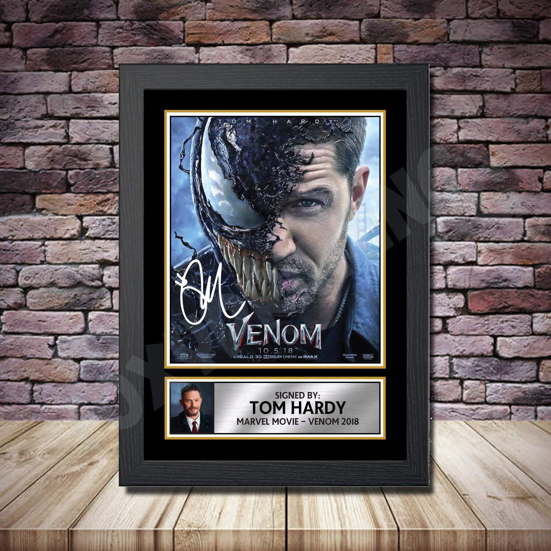 A4 A3 A2 A1 A0| Venom Marvel Tom Hardy Movie Poster Print T189
