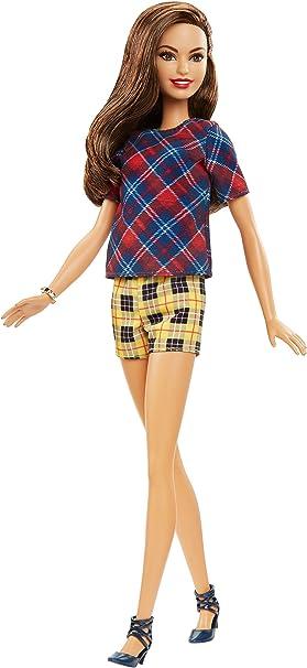 Amazon.es: Barbie - Fashionista, muñeca con Top escocés (DVX74 ...