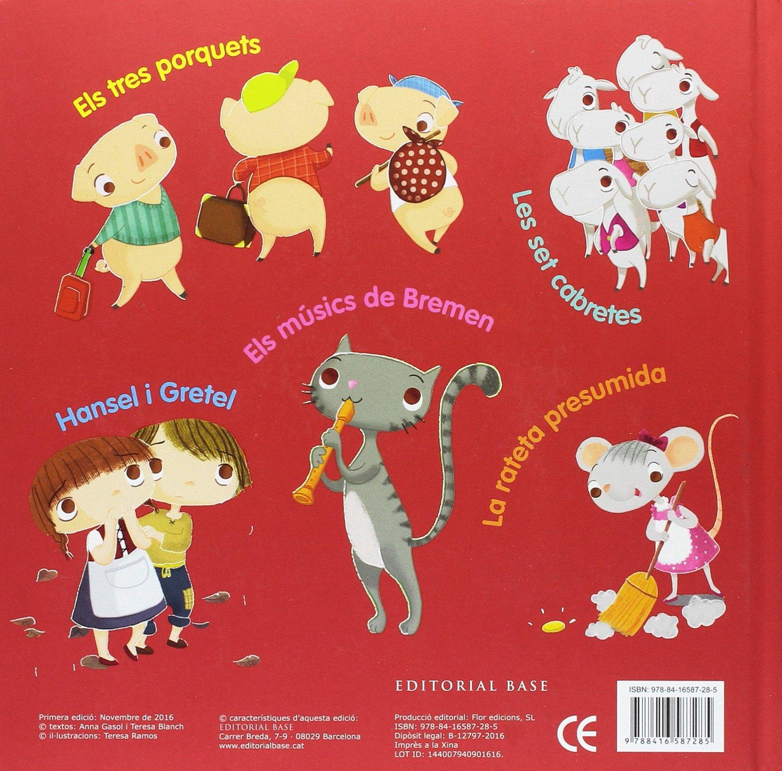 Els tres porquets i altres contes clàssics Base Kids: Amazon.es: Anna Gasol, Teresa Blanch, Teresa Ramos: Libros