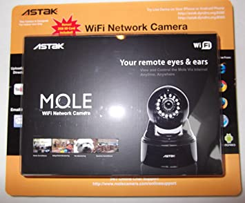 Amazon.com : Astak Mole Wifi Built-in Microphone with Phone ...