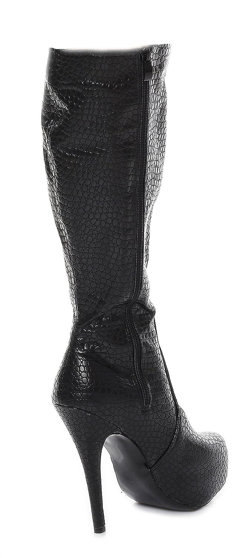 Botas de color talla 36 sintético para material Kassiopeya mujer negro gC5wdC