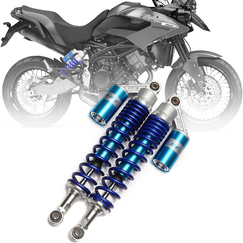"""12.5/""""Motorcycle Suspension Shock Absorbers for Honda Ducati Kawasaki Comfortable"""