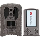 BOG Invisible Flash and Infrared Game Cameras with Removable Viewing Screen, Image Tagging and HD Video for Hunting, Land Man