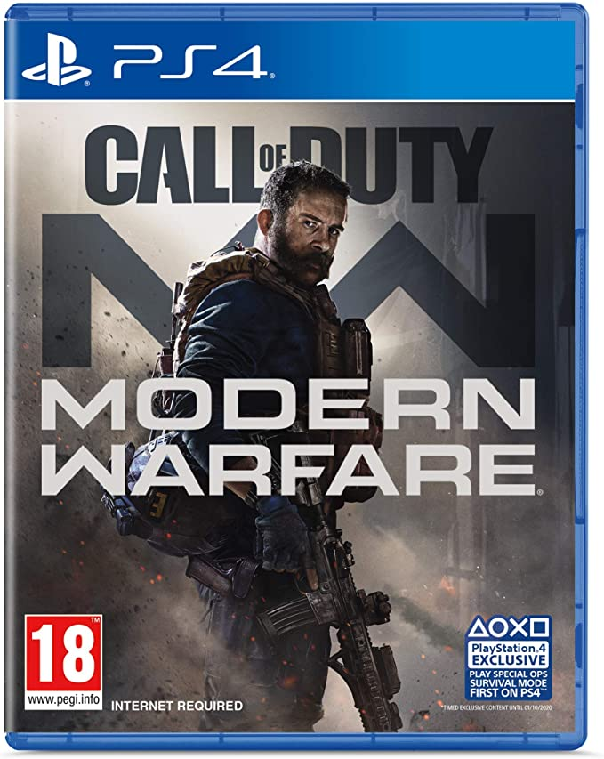 Call Of Duty Modern Warfare Ps4 Exclusive To Amazon Co Uk Amazon Co Uk Pc Video Games