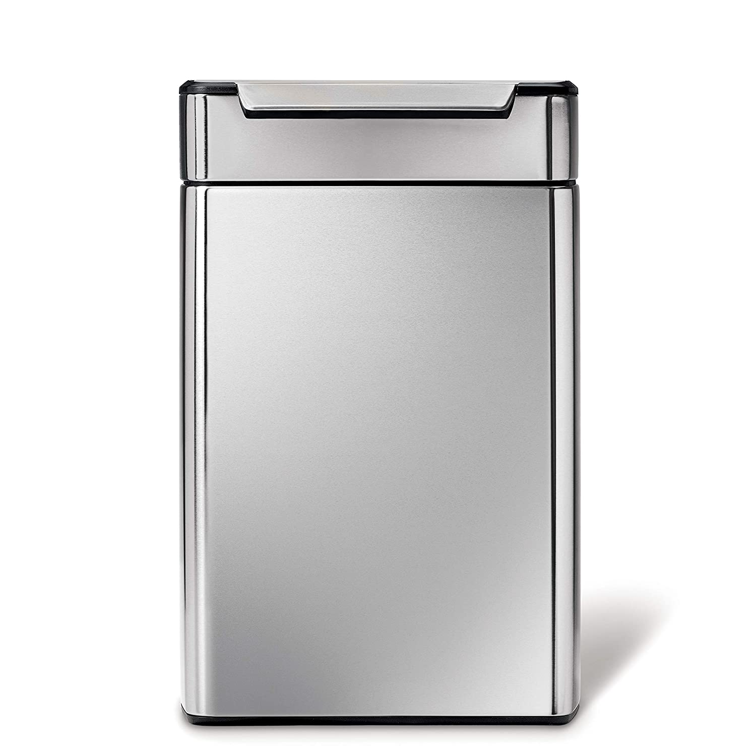 29/x 40/cm 1/Unit simplehuman CW2018/Touch Bar Recycling Kitchen Bin Stainless Steel