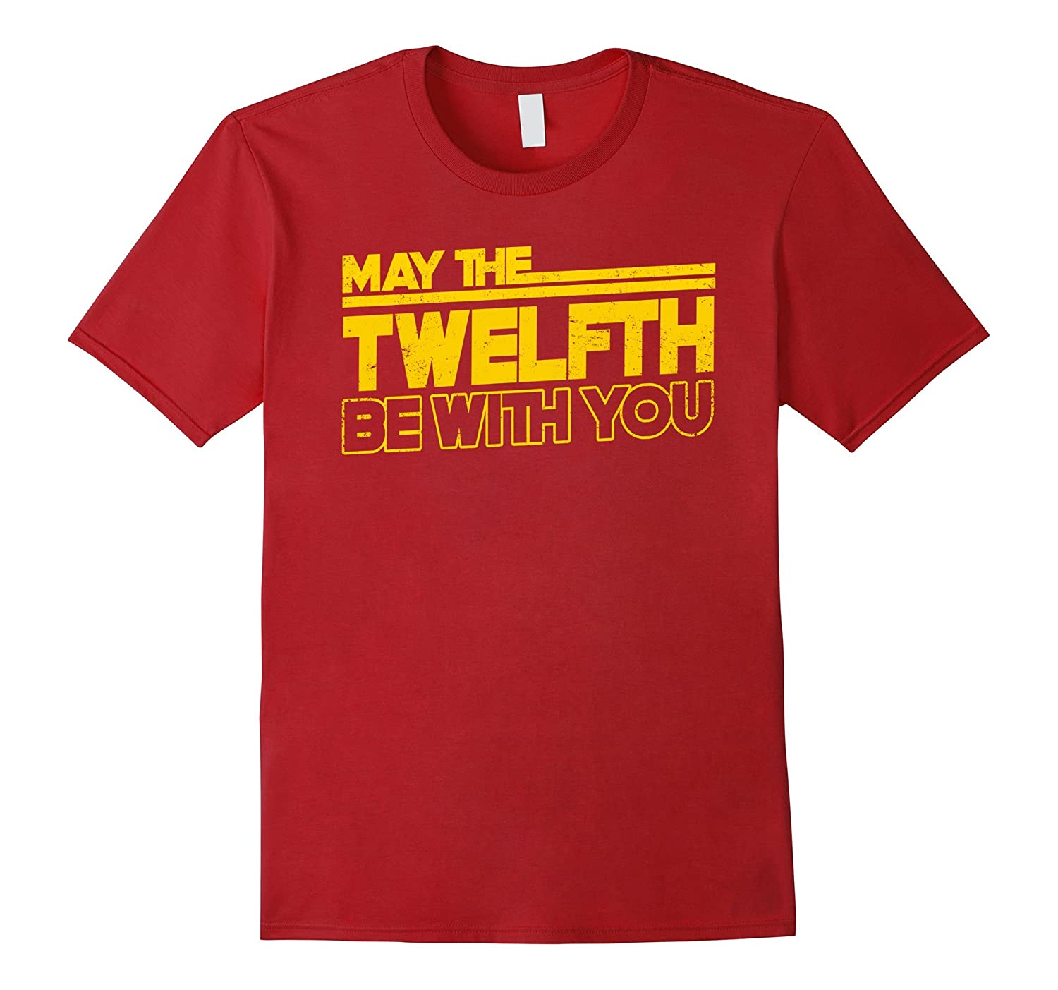 12th Birthday T-Shirt May The Twelfth Be With You-PL