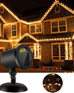 Amazon christmas laser lights projector as seen on tv xmas lights outdoor christmas projector star laser motion lights for garden christmas decoration as seen on mozeypictures Gallery