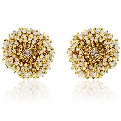 6fbc32dbf Buy Shining Diva Fashion Gold Plated Latest Stylish Party Wear ...