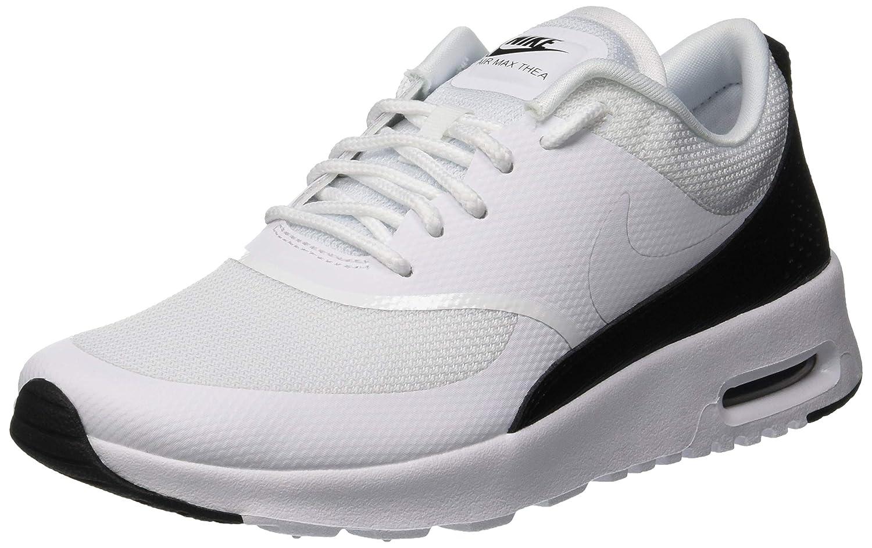 Nike WMNS Air Femme Max Thea, Sneakers Basses Femme Air 35.5 EU Blanc (White/White/Black) 35f114