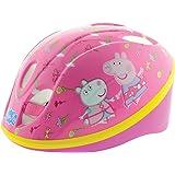 Peppa Pig Girl Safety Helmet, Pink, Size 48-52