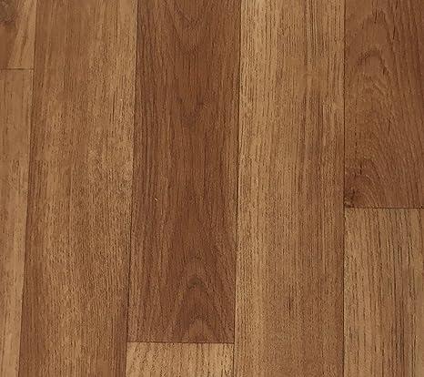 CV-Boden wird in ben/ötigter Gr/ö/ße als Meterware geliefert rutschhemmend PVC-Belag verf/ügbar in der Breite 3 m /& in der L/änge 4,0 m PVC Vinyl-Bodenbelag Schiffsboden-Optik Grau