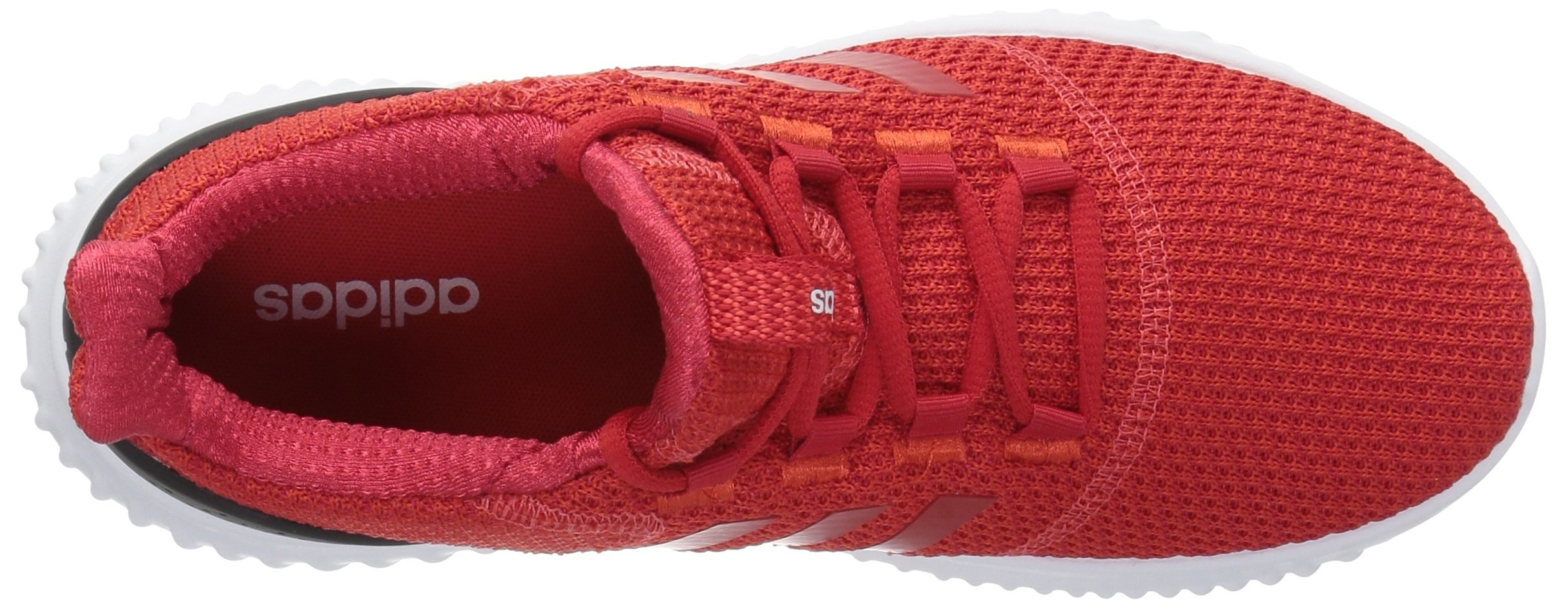 adidas Kids' Cloudfoam Ultimate Running Shoe, Red/Scarlet/Black, 1 M US Little Kid by adidas (Image #7)