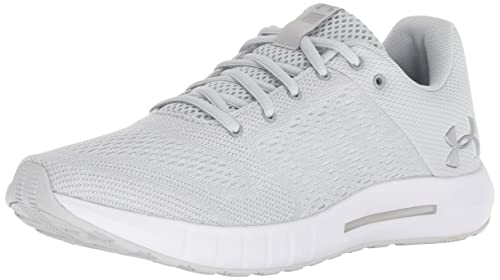 Under Armour Women s Micro G Pursuit Running Shoe, Elemental 111 White, 9