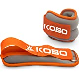 Kobo AC-20 Ankle/Wrist Weight, 0.5Kg (Orange/Grey)