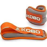 Kobo AC-23 Ankle/Wrist Weight, 2 Kg (Orange/Grey)